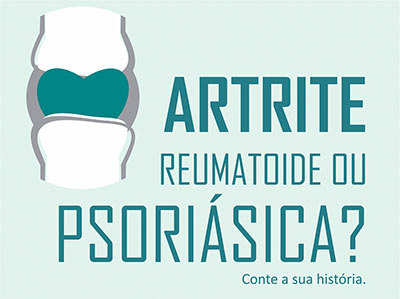 """Pesquisa """"O Olhar do Paciente: viver com artrite no Brasil"""""""